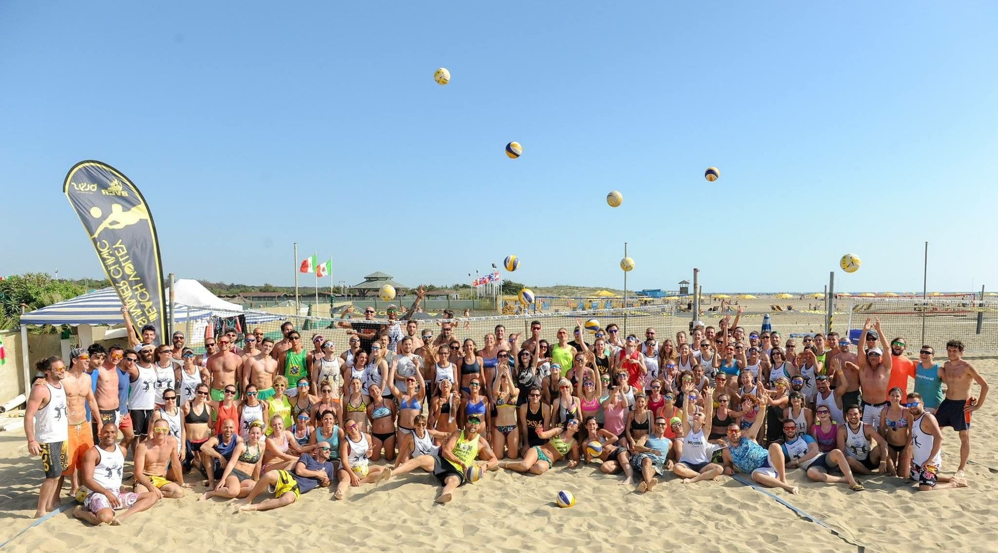 E' Record per la 14esima edizione del Beach Volley Summer Clinic!